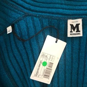 Missoni Sweaters - NWT Missoni long wool button up sweater coat